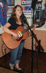 Evelyn at the Villa Park VFW